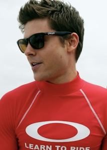 as seen on Zac Efron