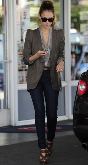 as seen on Jessica Alba