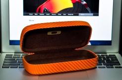 $45 SQUARE O HARD CASES SKU# 07-583 Color: Persimmon