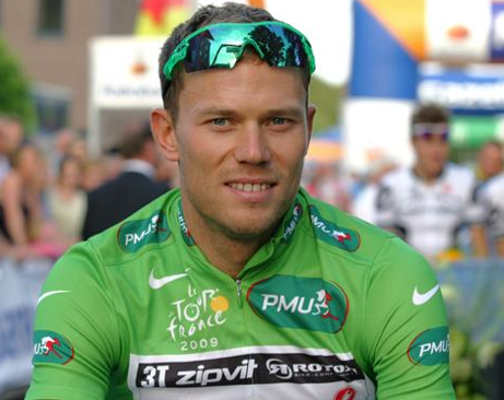 as seen on Thor Hushovd