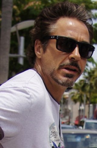 as seen on Robert Downey Jr.