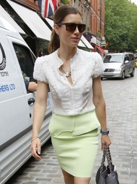 as seen on Jessica Biel