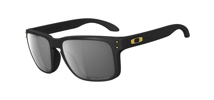 SHAUN WHITE SIGNATURE SERIES POLARIZED HOLBROOK™ SKU# OO9102-17 Color: Matte Black/Grey Polarized