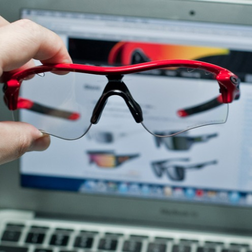 front view of radarlock path photochromic SKU#OO9181-09