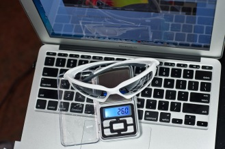 Weight of Oakley Scalpel is 26.0g