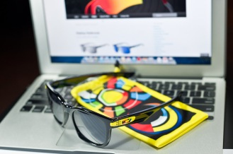 SGD$270 Oakley Garage Rock Valentino Rossi Signature Series