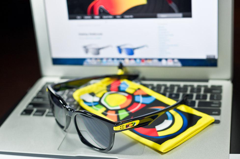 SGD$270 Oakley Garage Rock Valentino Rossi Signature Series