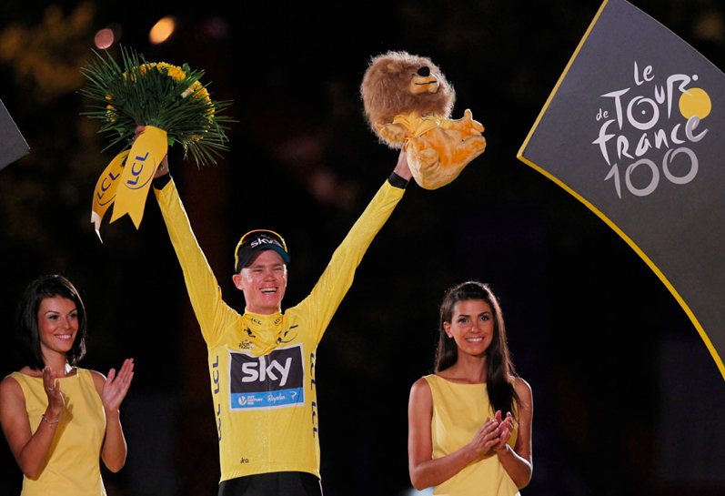 Chris Froome crowned...