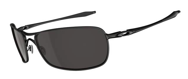 $250 Oakley Crosshair 2.0 SKU# OO4044-04 Matt Black/ Warm Grey