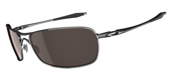 $270 Oakley Crosshair 2.0 SKU# OO4044-05 Polished Chrome/ VR28 Black Iridium