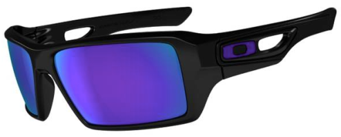 $190 Oakley EYEPATCH® 2 SKU# OO9136-06 Color: Polished Black/Violet Iridium