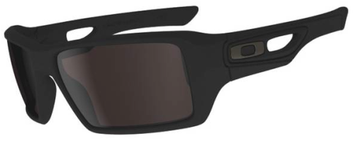 $190 Oakley EYEPATCH® 2 SKU# OO9136-05 Color: Matte Black/Warm Grey