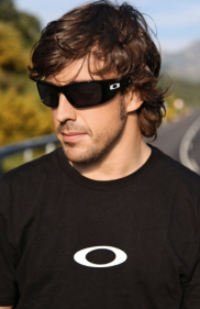 as seen on Fernando Alonso