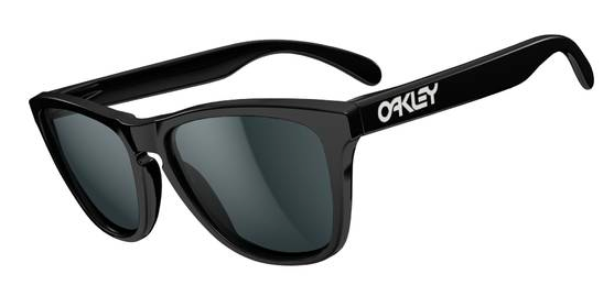 $190 Frogskins Polished Black/Grey SKU# 24-306