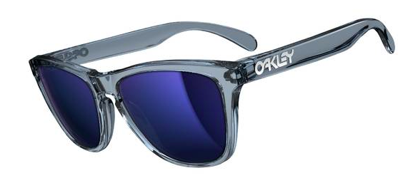 $190 Frogskins Crystal Black/Ice Iridium SKU# 03-292