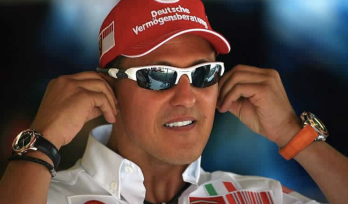 as seen on Michael Schumacher
