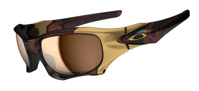 oakley half jacket rootbeer lp15  $850 The Best Ever Oakley PitBoss2 SKU# OO9137-03 Polished Rootbeer/  Tungsten Iridium