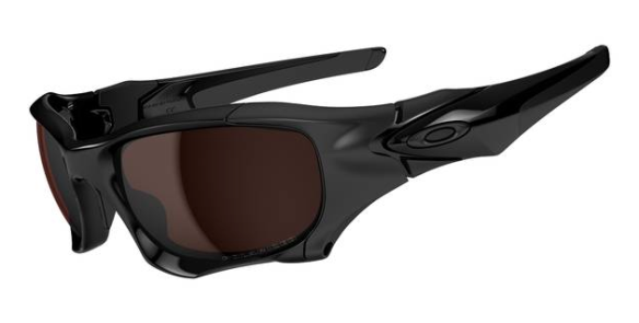 $850 The Best Ever Oakley PitBoss2 SKU# OO9137-02 Polished Blacl/ VR28 Black Iridium Polarised