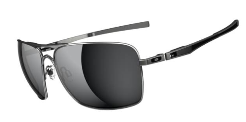 $280 Oakley Plaintiff Squared SKU# OO4063-07 Lead/Black Iridium