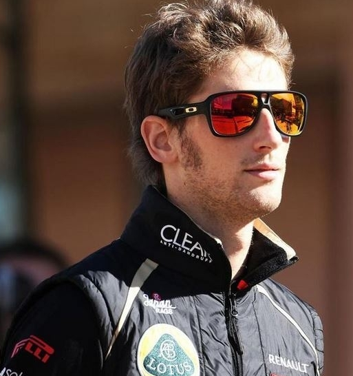 as seen on Romain Grosjean