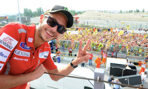 as seen on Valentino Rossi