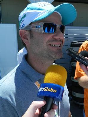 as seen on Rubens Barrichello