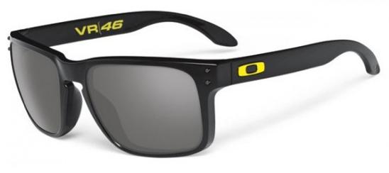 Oakley Holbrook Valentino Rossi Signature Series VR/46 Polished Black Sunglasses OO9102-21