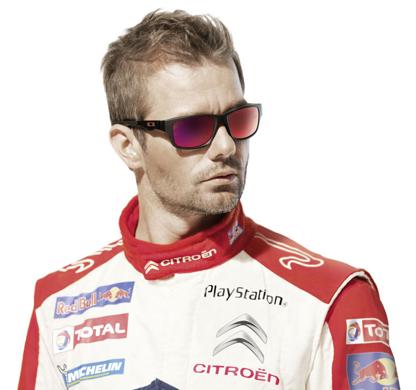 Sebastian Loeb wears Oakley Jupiter Squared