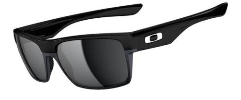 New! $250 Oakley Two Face SKU# OO9189-02 Polished Black/Black Iridium