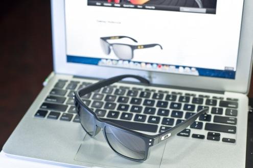 $220 Holbrook SKU#OO9102-01 Matte Black/Grey Lens