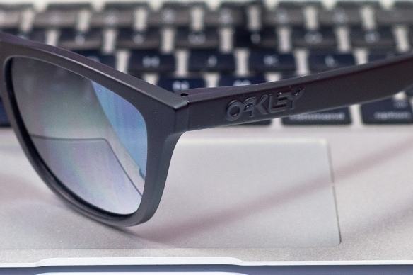 Oakley logo detail  Rag & Bone x Oakley Frogskins SKU# undefined Colab Limited Edition 1/150  production run.