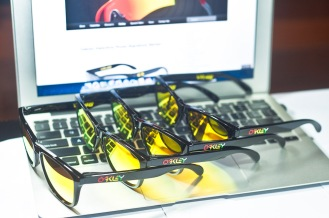 Oakley Valentino Rossi Signature Series Frogskins Collection.
