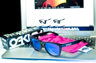 $200 FROGSKINS® SKU# 24-298 Color: Matte Black/Violet Iridium
