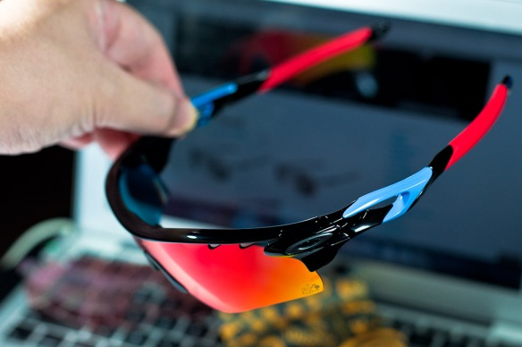 SGD$390 OAKLEY SPECIAL EDITION TOUR DE FRANCE RADARLOCK™ PATH™ 100th Anniversary SKU# OO9181-18 Color: Polished Black/Positive Red Iridium Vented & G40 Vented @Singapore