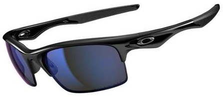$270 Oakley POLARIZED BOTTLE ROCKET™ ANGLING SPECIFIC SKU# OO9164-07 Color: Polished Black/Deep Blue Polarized