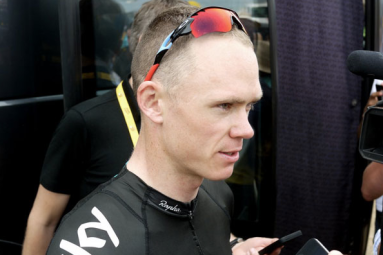 Chris Froome wears Oakley RadarLock Path Tour de France
