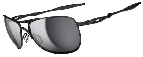 $260 Oakley CROSSHAIR® SKU# OO4060-03 Color: Matte Black/Black Iridium