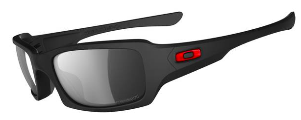 Oakley DUCATI POLARIZED FIVES SQUARED™ SKU# OO9238-03 Color: Matte Black/Black Iridium Polarized