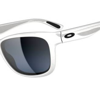 $230 OAKLEY FOREHAND™SKU# OO9179-02 Color: Polished White/Black Grey Gradient