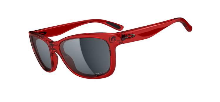 $320 POLARIZED OAKLEY FOREHAND™SKU# OO9179-07 Color: Cherry Red/Grey Polarized
