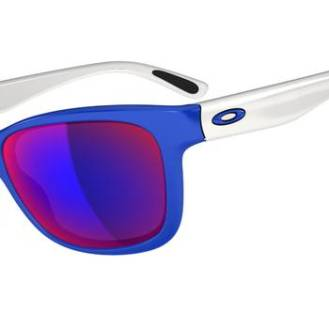 $240 OAKLEY FOREHAND™SKU# OO9179-17 Color: Brilliant Blue/Positive Red Iridium