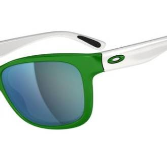 $240 OAKLEY FOREHAND™SKU# OO9179-18 Color: G-Money/Emerald Iridium