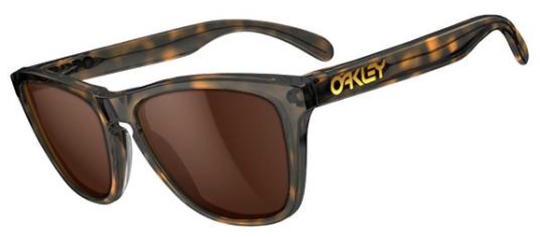 $200 Oakley FROGSKINS® LX SKU# OO2043-06 Color: Dark Brown Tortoise/Dark Bronze