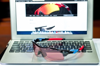 Oakley Tour de France with G40 Iridium lens on.