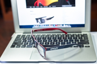 $210 Oakley Frogskins LX details by wahliaodotcom