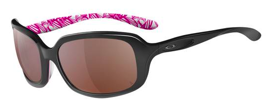 OAKLEY DISGUISE™ BREAST CANCER AWARENESS EDITION SKU# OO2030-07 Color: Polished Black/G40 Black Gradient