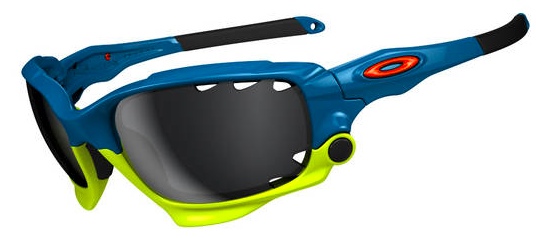 Oakley LIMITED EDITION FATHOM RACING JACKET® SKU# OO9171-15 Color: Pacific Blue/Black Iridium Vented & Clear Vented