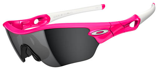 $290 Oakley RADAR® EDGE™ SKU# OO9184-09 Color: Pink Lava/Black Iridium
