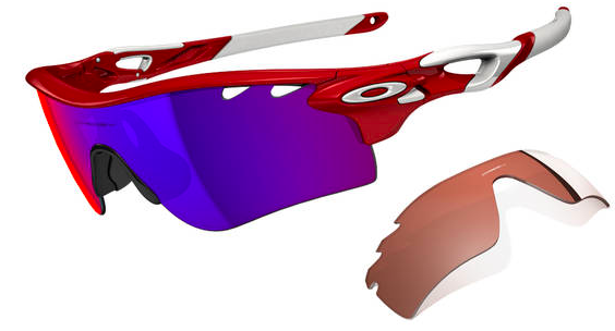 $360 RADARLOCK™ PATH SKU# OO9181-16 Singapore Color: Infrared/Positive Red Iridium & VR28