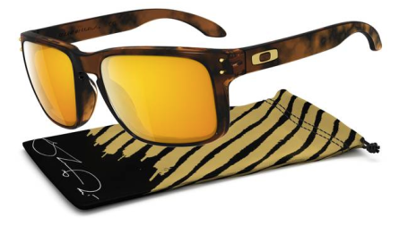 Oakley SHAUN WHITE SIGNATURE SERIES HOLBROOK™ SKU# OO9102-34 Color: Brown Tortoise/24K